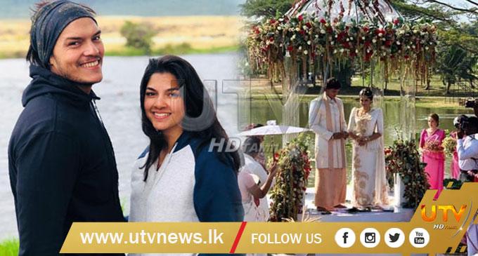 Rohitha Rajapaksa ties the knot