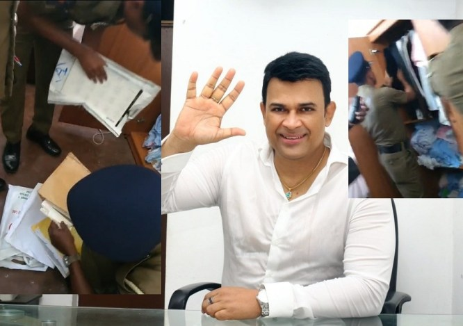 Police search Ranjan Ramanayake's residence – [VIDEO]