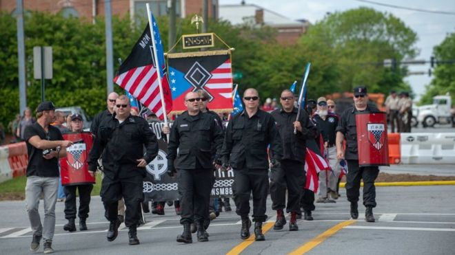 US white supremacist propaganda incidents 'rose by 120% in 2019'
