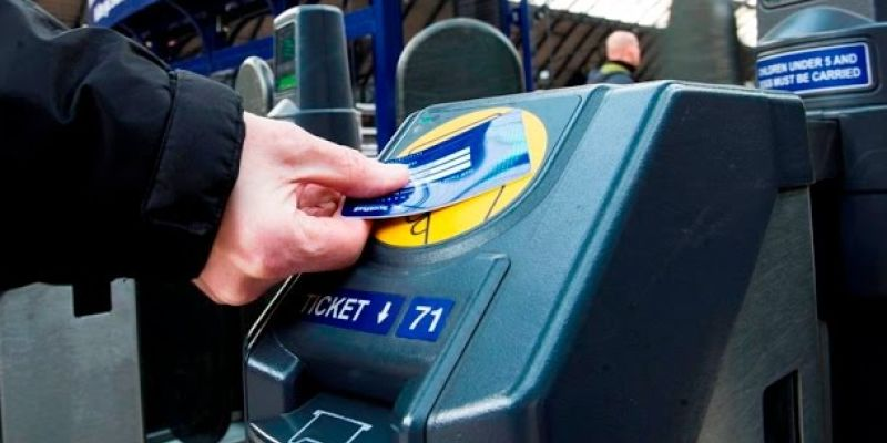 Smart card and online ticketing for trains